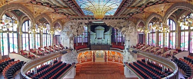 Palau de la Música Catalana em Barcelona