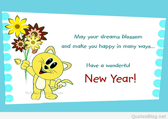 Happy New Year 2018 - Cartoon Images And Wallpapers