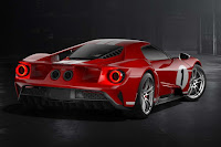 Ford GT '67 Heritage Edition (2018) Rear Side