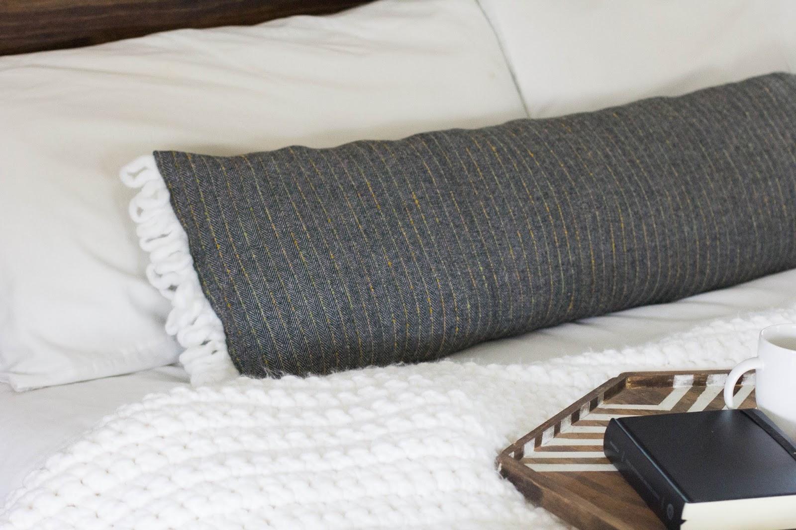 always rooney: Extra Long Lumbar Pillow | DIY
