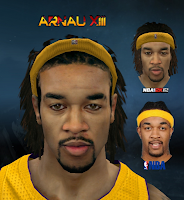 Download PC NBA 2K12 Jordan Hill Player Patch Cyber face Patch