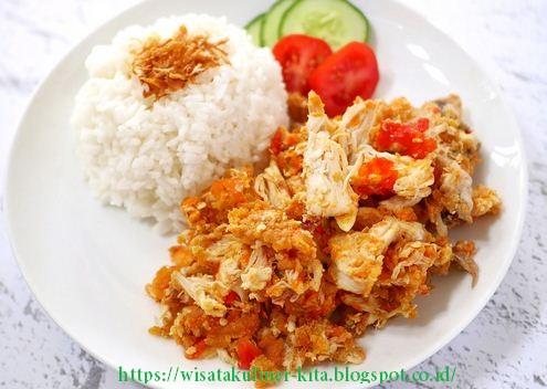 Suka Makanan Pedas?Inilah Resep Ayam Geprek Super Pedas