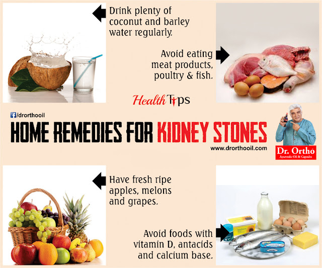 Health Tips for Kidney Stones
