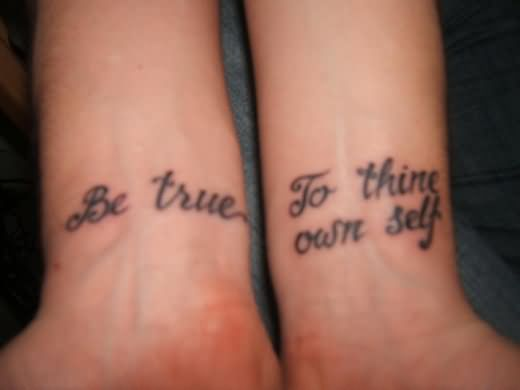inner wrist tattoo design