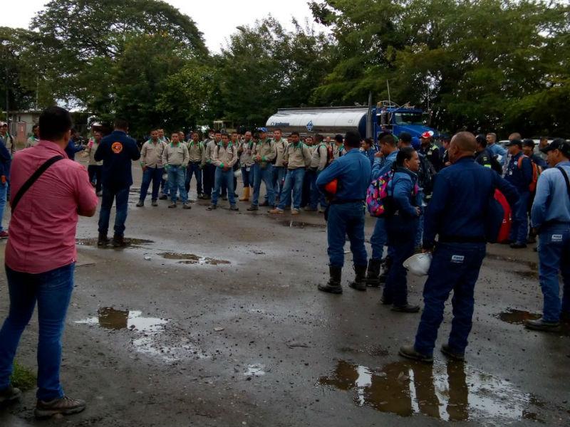 Ecopetrol sabotea informativo en Cantagallo