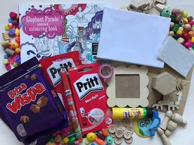 Win some crafty goodies and chocolate in my giveaway