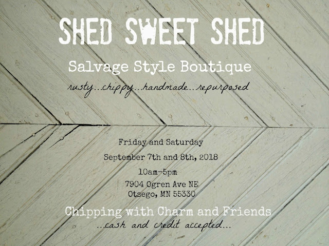 Chipping with Charm: Shed Sweet Shed Boutique 2018