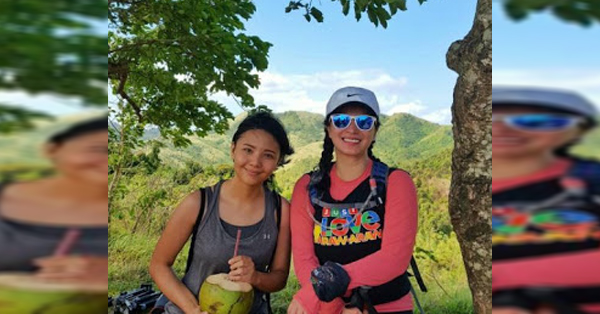 A Fan Was Delighted After She Unexpectedly Met Angel Locsin During Their Hike On Her Birthday
