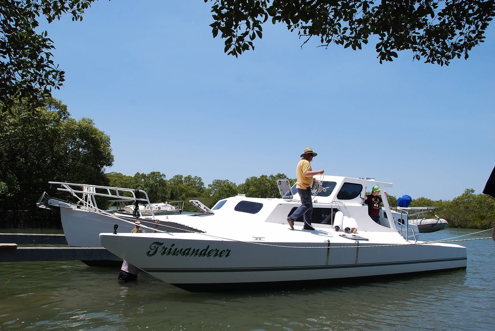 Trimaran Projects and Multihull News: Triwanderer's, Hedley