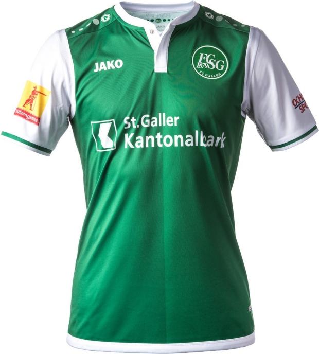 ba139b6447 Jako divulga as novas camisas do St. Gallen - Show de Camisas