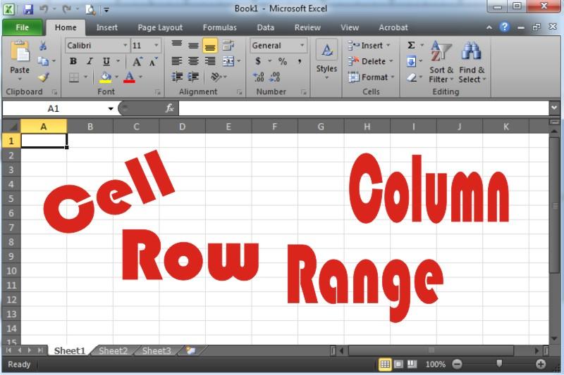 Pengertian Cell, Range, Row dan Column Pada MS Excel ...