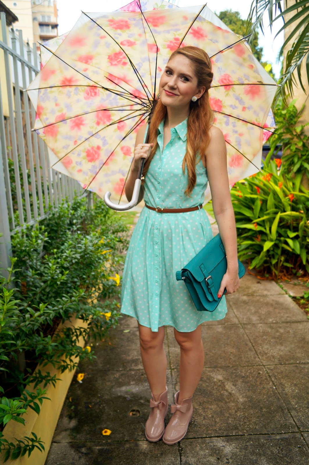 The Joy of Fashion {Outfit} Cute Look for Rainy Days
