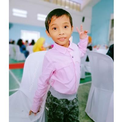 irfan hensem, abam pink, abam hensem, irfan, 7 years old
