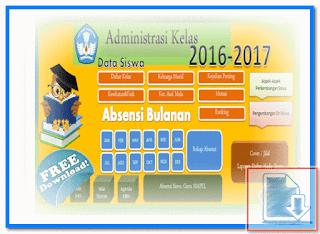 Aplikasi Absensi Siswa Terbaru 2016/2017 Format Excel.Xlsx