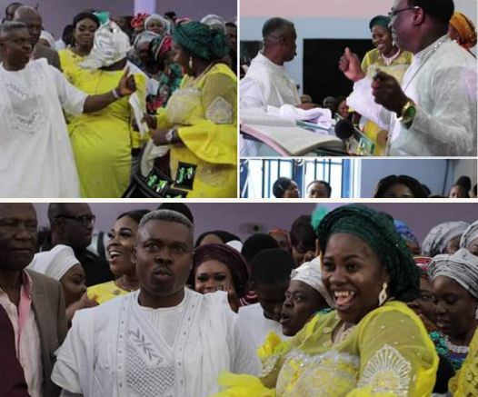 Nigerian Pastor & Wife Welcomes First Child After 22 Years Battling Barrenness