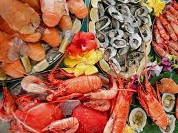 giảm cân tại nhà bằng các loại hải sản