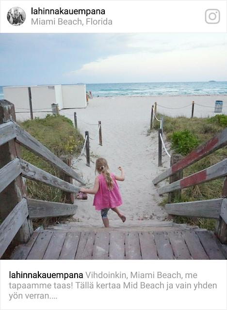Miami Beach lasten kanssa / Florida 2017