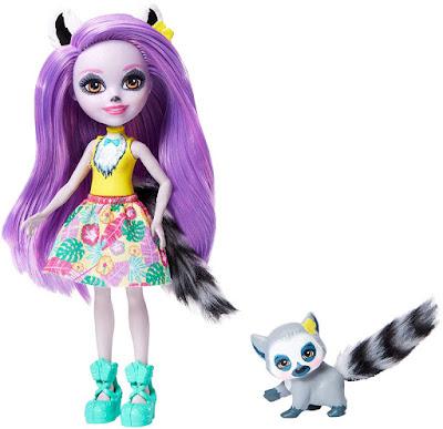 ENCHANTIMALS Muñeca Larissa Lemur + Lémur Ringlet | Doll Producto Oficial | Mattel gfn44 | A partir de 4 años COMPRAR ESTE JUGUETE