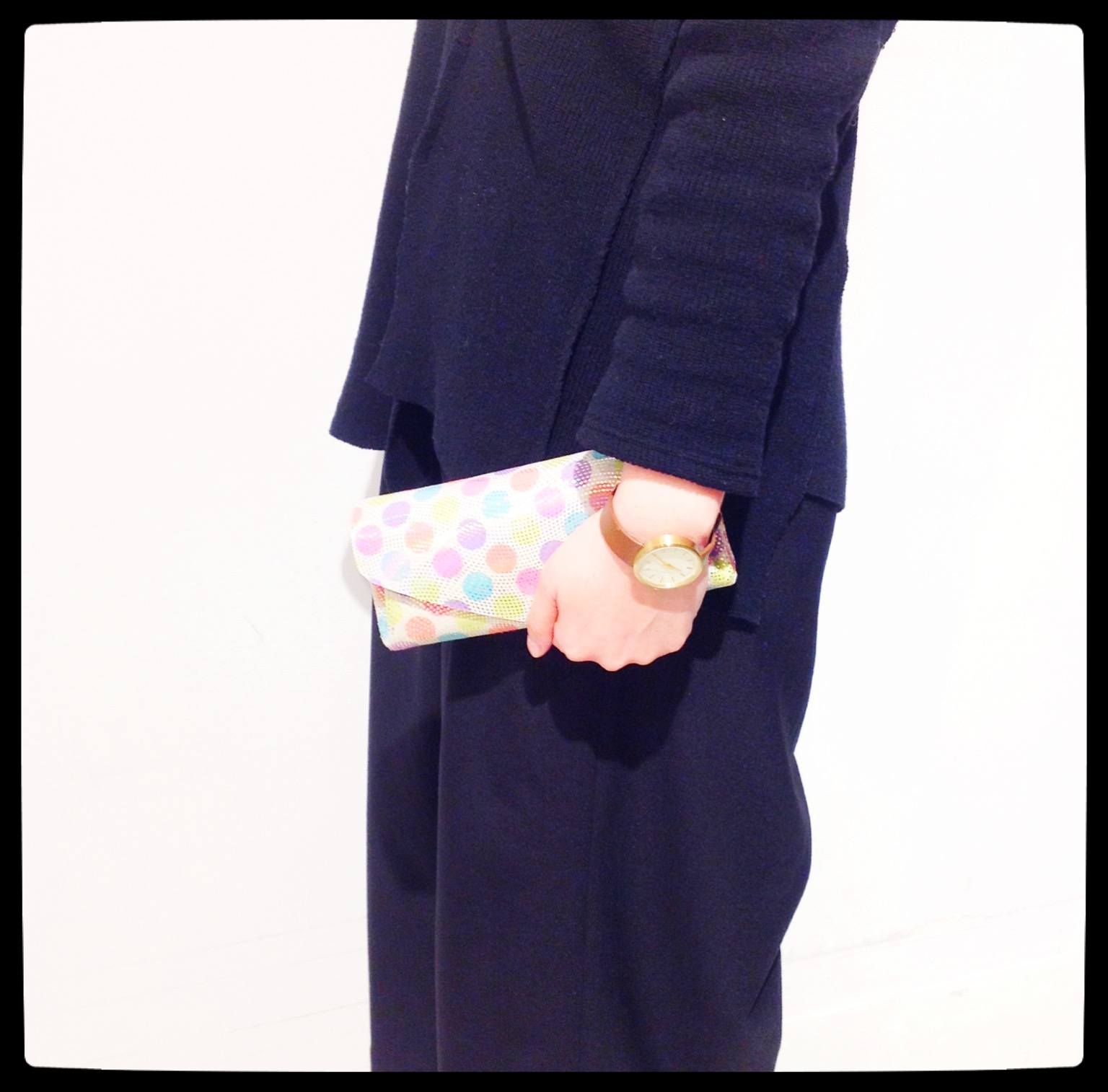 carmine【カーマイン】レザーウォレット ドット◎香川・綾川店