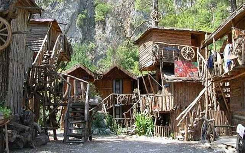 Exceptional Treehouse Hostel Georgia Part - 12: 23. Now You Have The Opportunity To Spend Your Vacation On The Tree With  Sweeping Views Of The Olympos National Park And The Beautiful Beach, Where  You Find ...