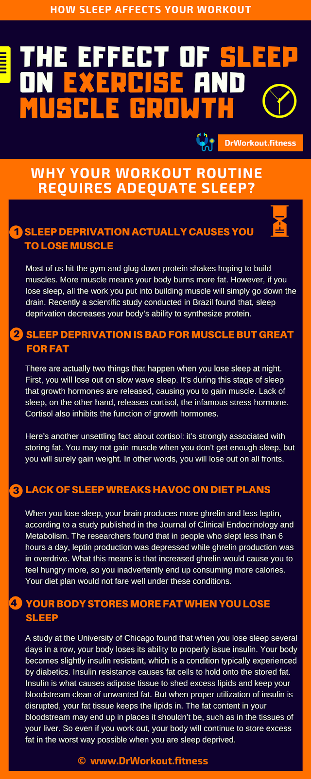 How Sleep Affects Your Workout