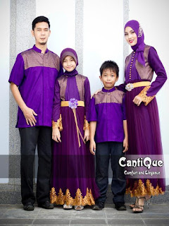 contoh baju seragam keluarga untuk lebaran