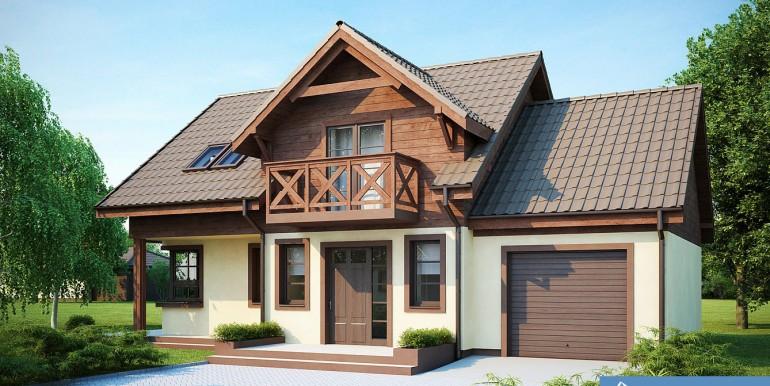 Proiecte de case cel mai bine vindut proiect de casa cu for Proiecte case cu garaj si mansarda