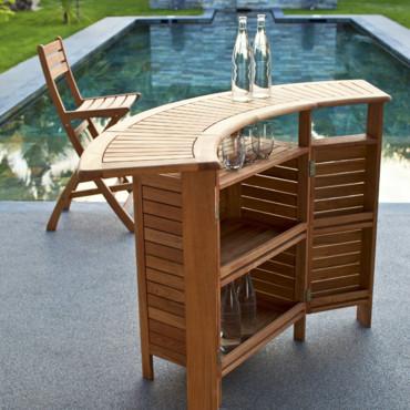 4 astuces pour am nager un bar dans son jardin. Black Bedroom Furniture Sets. Home Design Ideas