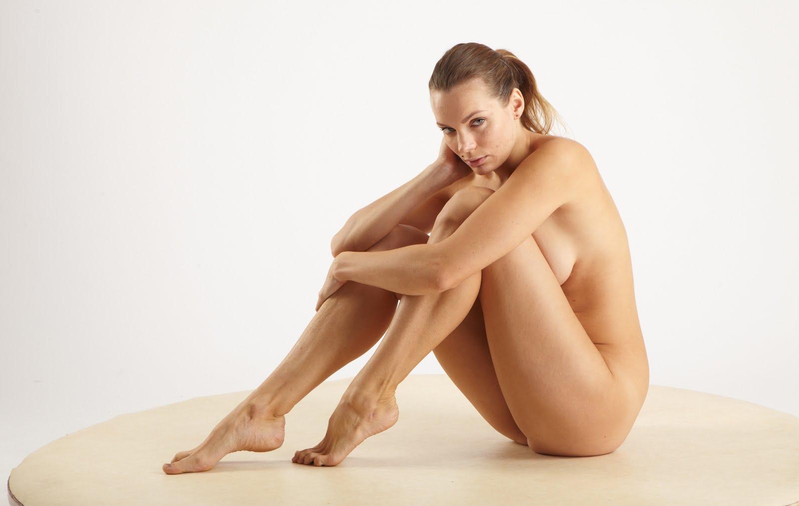 nude female figure study models