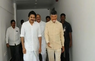 Pawan Kalyan Photos In Dhoti