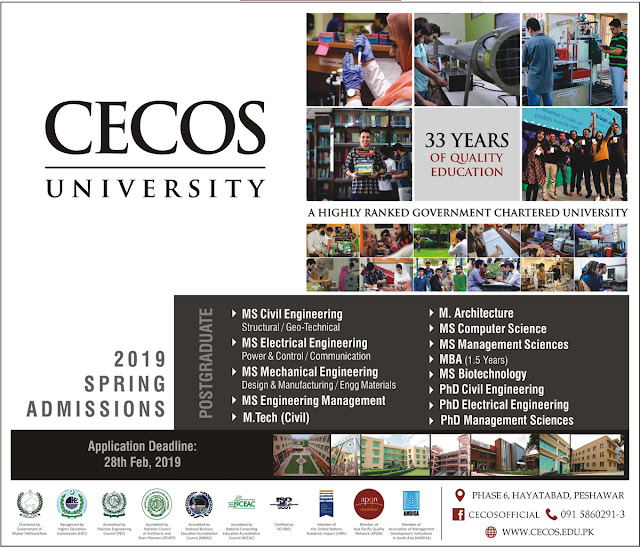 CECOS Admissions