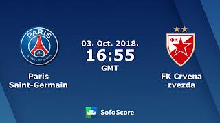مشاهدة مباراة باريس سان جيرمان وسرفينا زفيزدا بث مباشر بتاريخ 03-10-2018 دوري أبطال أوروبا