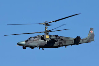 Helikopter Serang Ka-52 Alligator