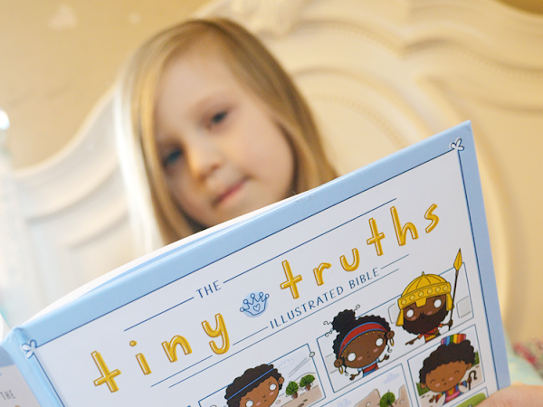 The Tiny Truths Illustrated Bible {A Review + Giveaway}