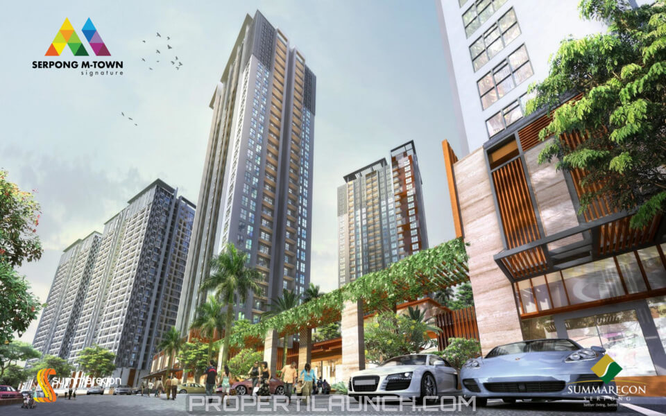 Serpong M-Town Signature Apartment