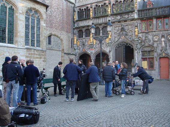 Burg Bruges-Localizaciones de la pelicula escondidos en Brujas