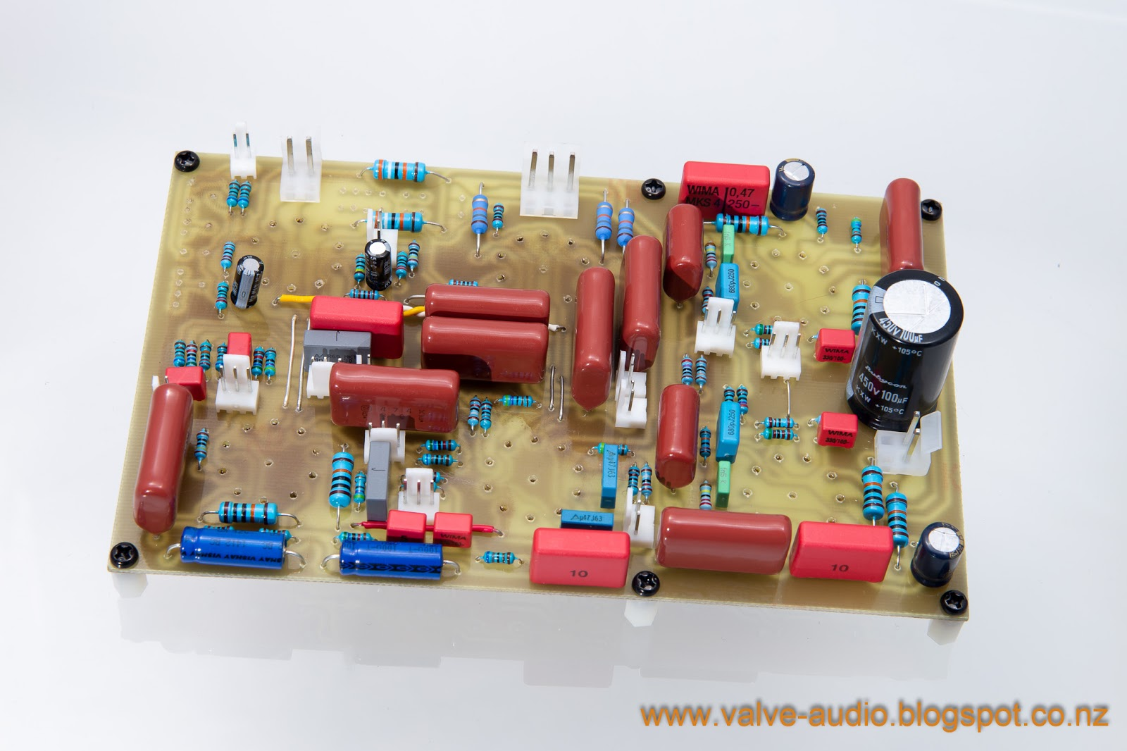 Vinyl And Valves Tubes Turntables El84 Push Pull Tube Amplifier Schematic Design Concepts The Amp Main Board
