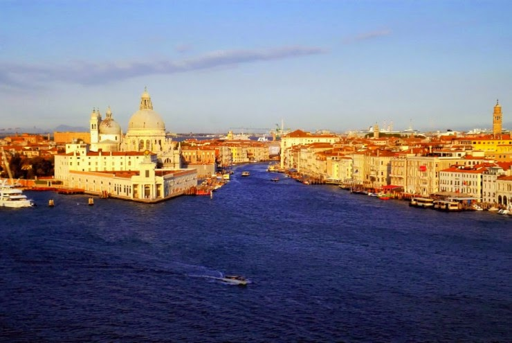 Grand Canal – the Historic Water Corridor in Venice, Italy