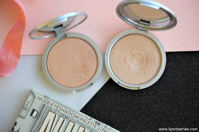TheBalm Bonnie lou manizer highlighter vs Mary Lou manizer
