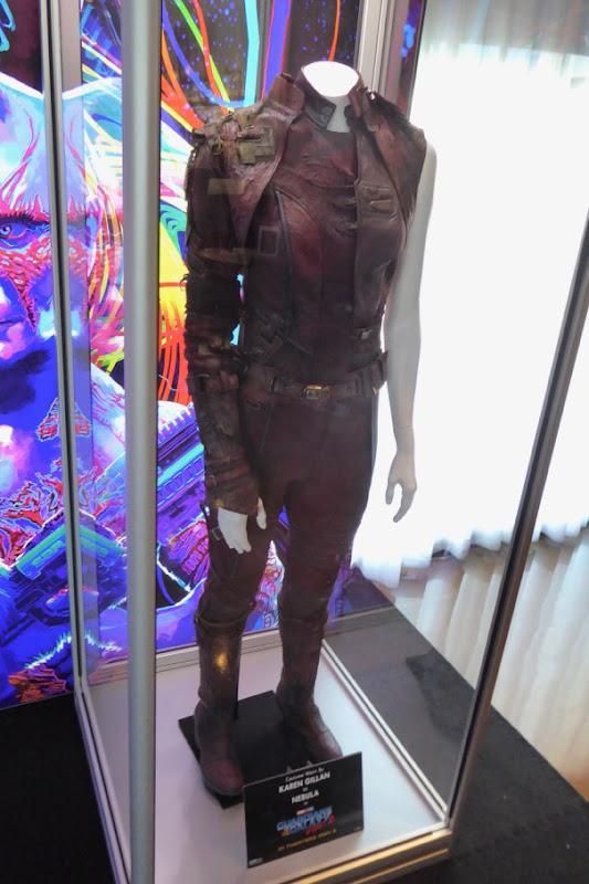 Karen Gillan Guardians of the Galaxy 2 Nebula costume