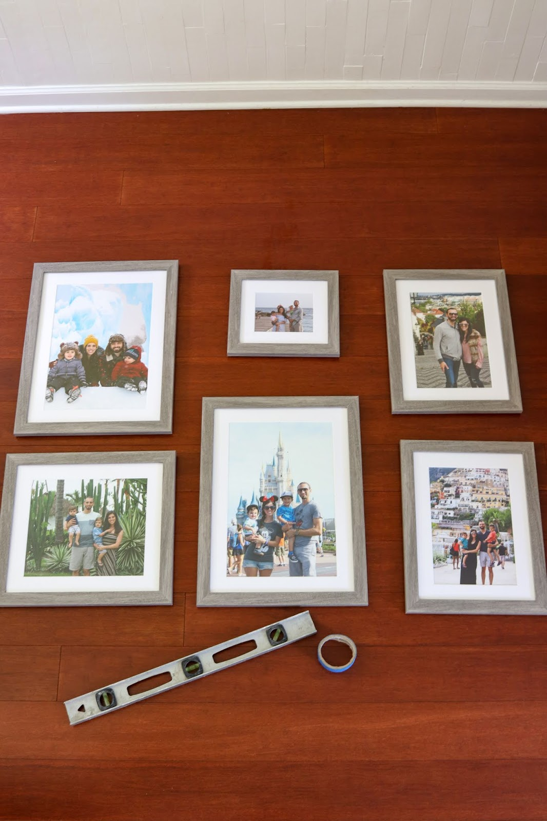 Beautifully Candid: Creating A Gallery Wall With Frame It Easy