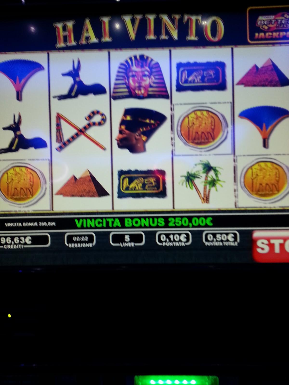 Toto slot machine trucchi
