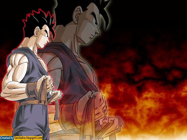 Cool Son Gohan Dragon Ball