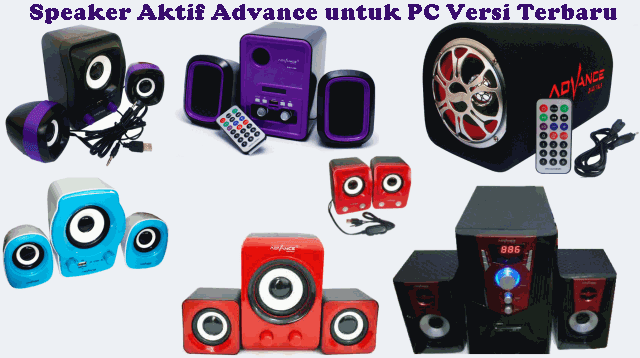 Speaker Aktif Advance