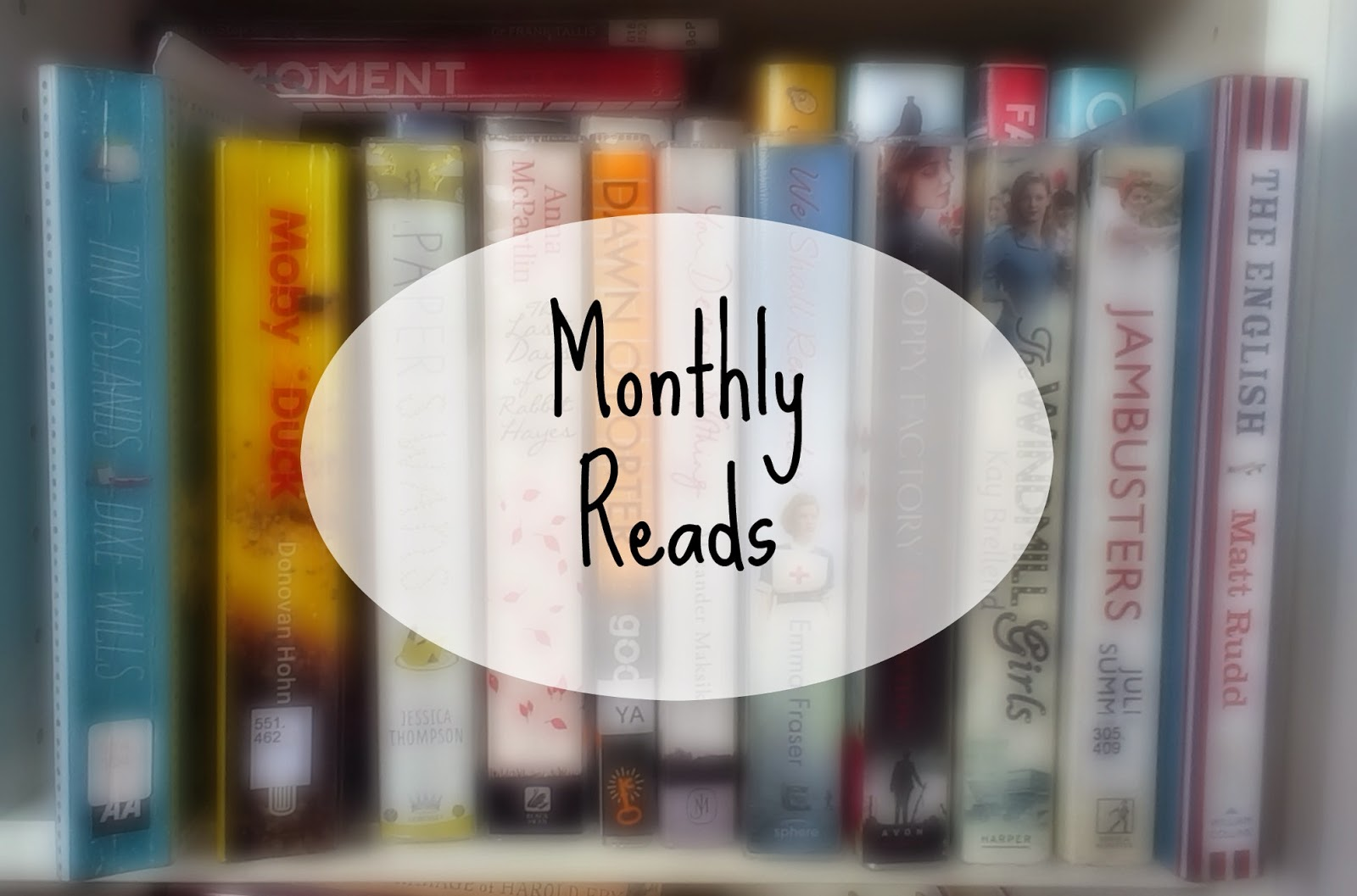 Monthly Reads - April