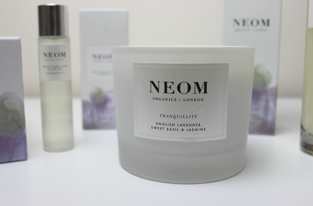 A picture of NEOM Tranquillity 3 Wick Scented Candle