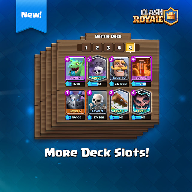 androidAcini - Clash Royale 5 Slot