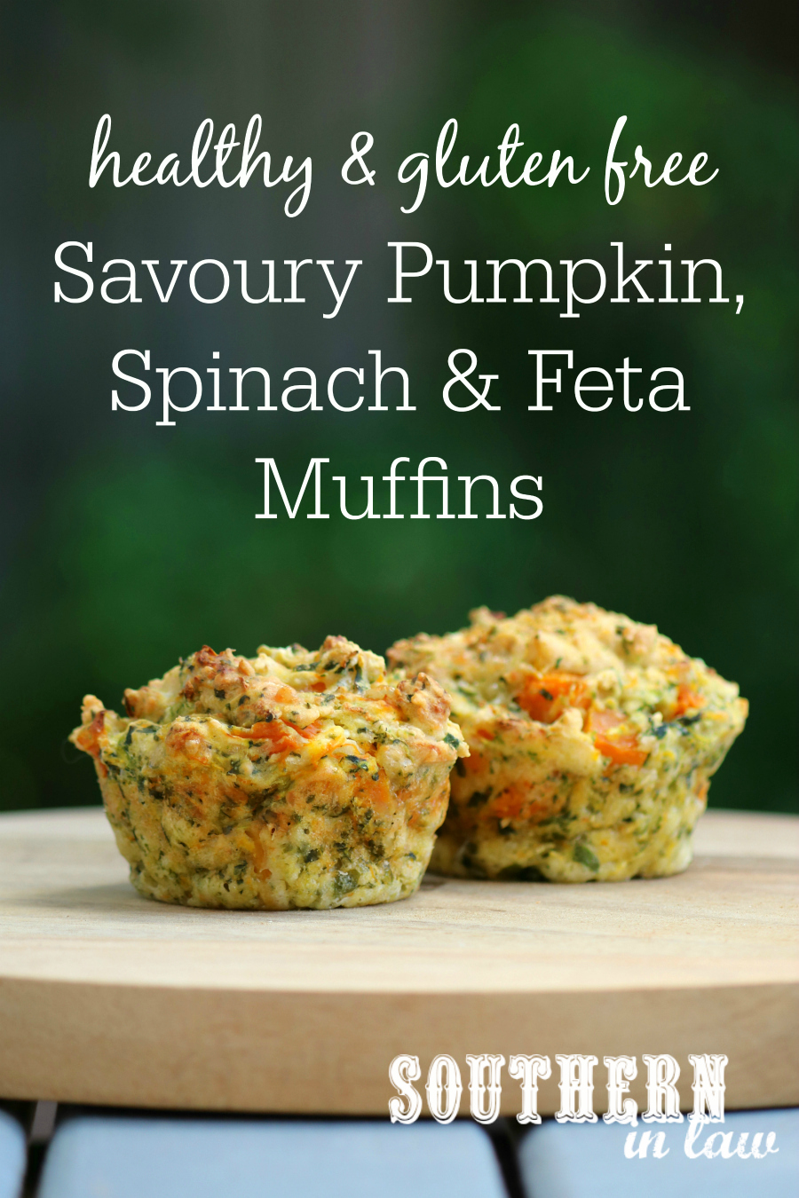 Southern In Law: Recipe: Savoury Pumpkin, Spinach and Feta ...