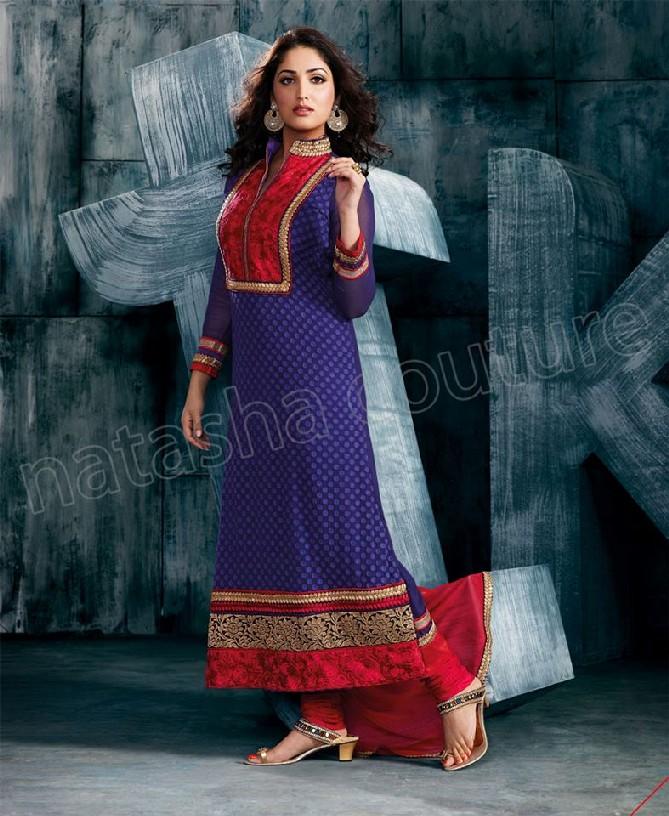 Natasha Couture Yami Designer Salwar Kameez 2013 | Indian ...