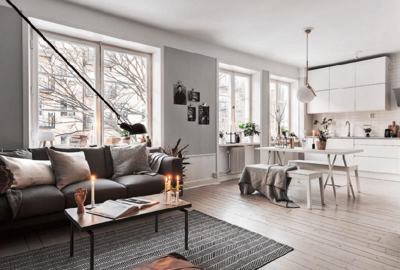 10 motivi per cui scegliere un arredamento nordico